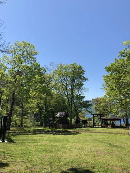 山線湖畔驛再開から最初の週末を迎えました。