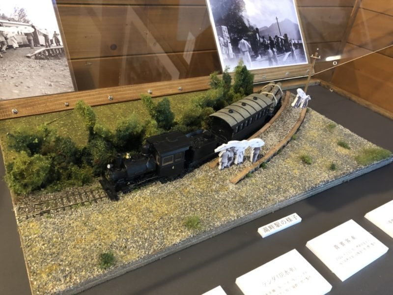 湖畔驛と4号機関車をジオラマで再現チャレンジ(番外編)