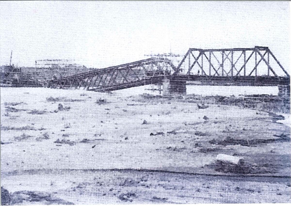 空知川第一橋梁の生涯